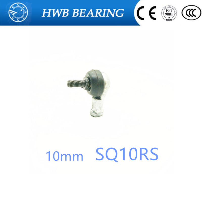 Free Shipping 4pcs/lot SQ10 RS 10mm Ball Joint Rod End Right Hand Tie Rod Ends Bearing SQ10RS free shipping evah pirazzi violin strings 419021 full set ball end made in germany for 4 4