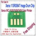 Laser de Chip para Xerox Workcentre 7425 7428 7435, Para Xerox WC-7425 WC-7428 WC-7435 113R00647 tambor de Chip de reset, 10 P