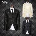 2016 New Business Dress Fashion Slim Fit Best Men Suit Wedding Bridegroom groom Suit Hot Sale (Jackets+Pants+Vest+Tie Custom