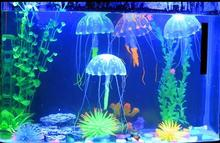 Glowing Artificial Silicone Vivid Jellyfish