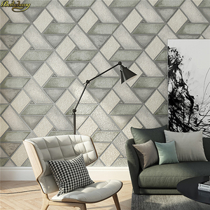 beibehang papel de parede 3D classic wall paper home decor background floral wallcovering 3d Modern geometry wallpaper roll