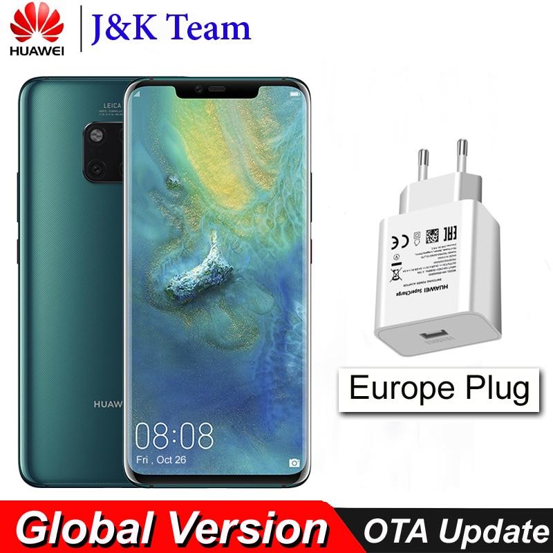 Huawei Mate 20 Pro Wireless Charging In-Screen Fingerprint 40MP Leica Triple camera Mobile Phone 4200mAh Smartphone Android 9.0