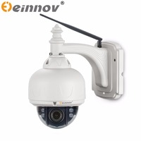 EINNOV 1080P PTZ IP CCTV Security Surveillance Camera Wifi Wireless POE Outdoor Waterproof Onvif SONY IMX322