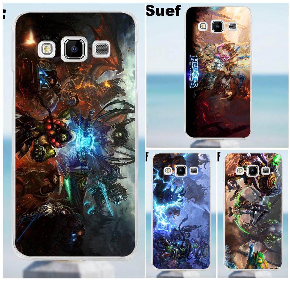 Suef Heroes Of The Storm Soft TPU Pattern For Galaxy Alpha