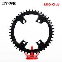 스톤 서클 자전거 싱글 체인 링 bcd 110 좁은 와이드 110mm 적합 r7000 ultegra r8000/r9100 접이식 도로 자전거 체인 휠
