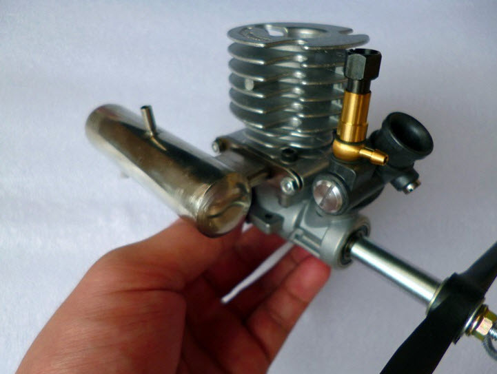 DIY refit aircraft pure Metal 15 Methanol Engine 15 TAIYO Model Aircraft Engine New Japan
