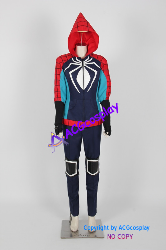 Rosy Higgins Spiderman Cosplay Costume ACGcosplay spider man costume include mask