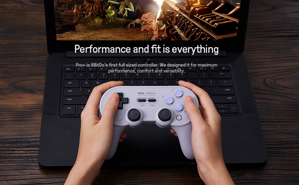 SN30 pro plus Official 8BitDo SN30 PRO+ Bluetooth Gamepad Controller with Joystick for Windows Android macOS Nintendo Switch 15