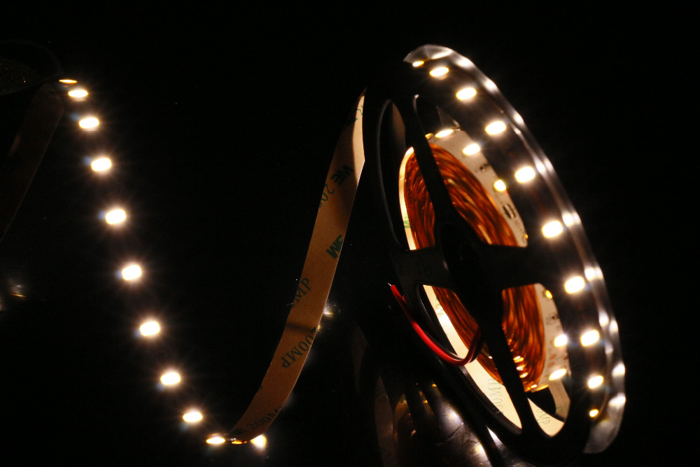 MARSWALLED High CRI 95+ LED Strip Light SMD5630 Super Bright Neutral White Nonwaterproof 4000K-4500K