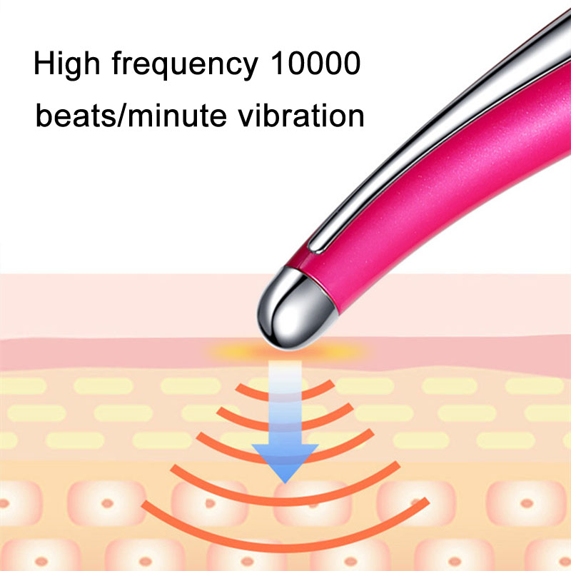 Electric Eye Massager Anti Aging Wrinkle Negative Ion Massage Eyes Care Beauty Device SSwell
