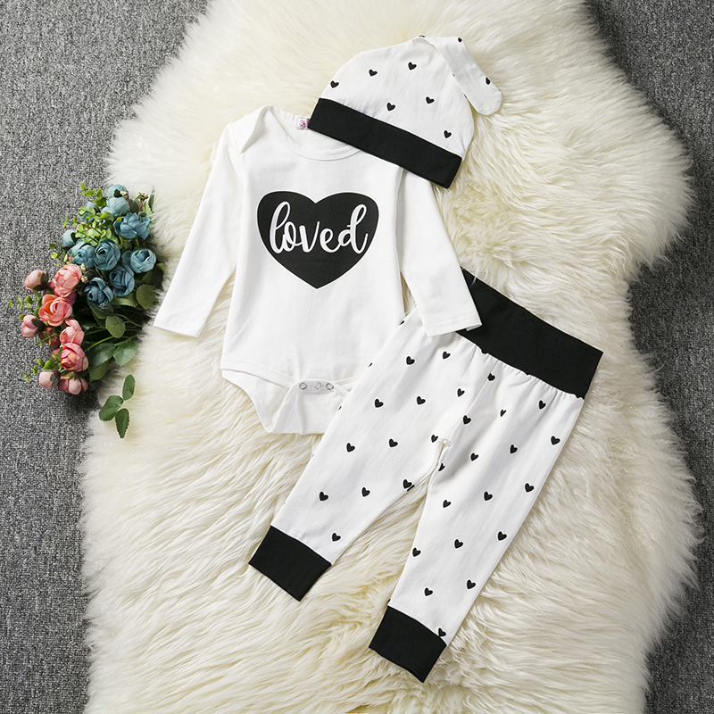 9adfe1501 2019 New Baby Clothing Sets Newborn Boy Girl Winter Clothes Kid s ...
