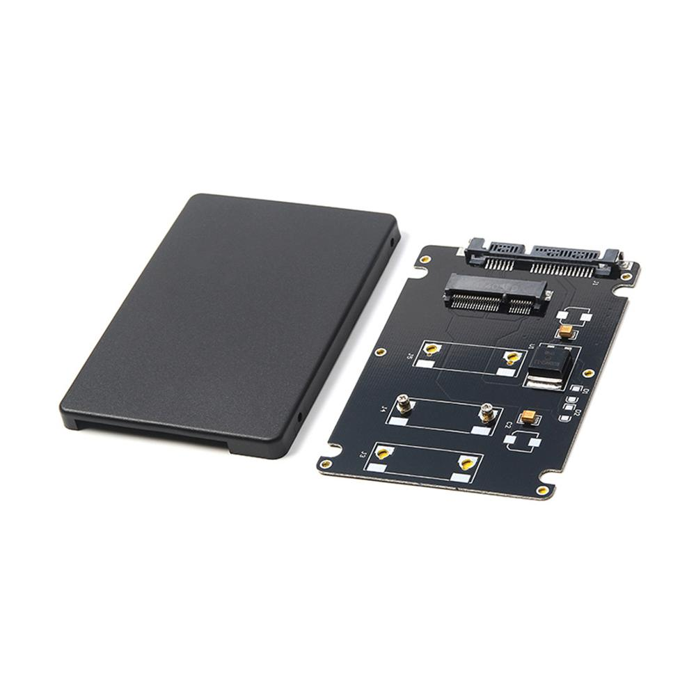 XT-XITEN Mini Pcie MSATA Adapter SSD To 2.5 Inch SATA3 Adapter Card With Case SATA Adapter Stock With Screws