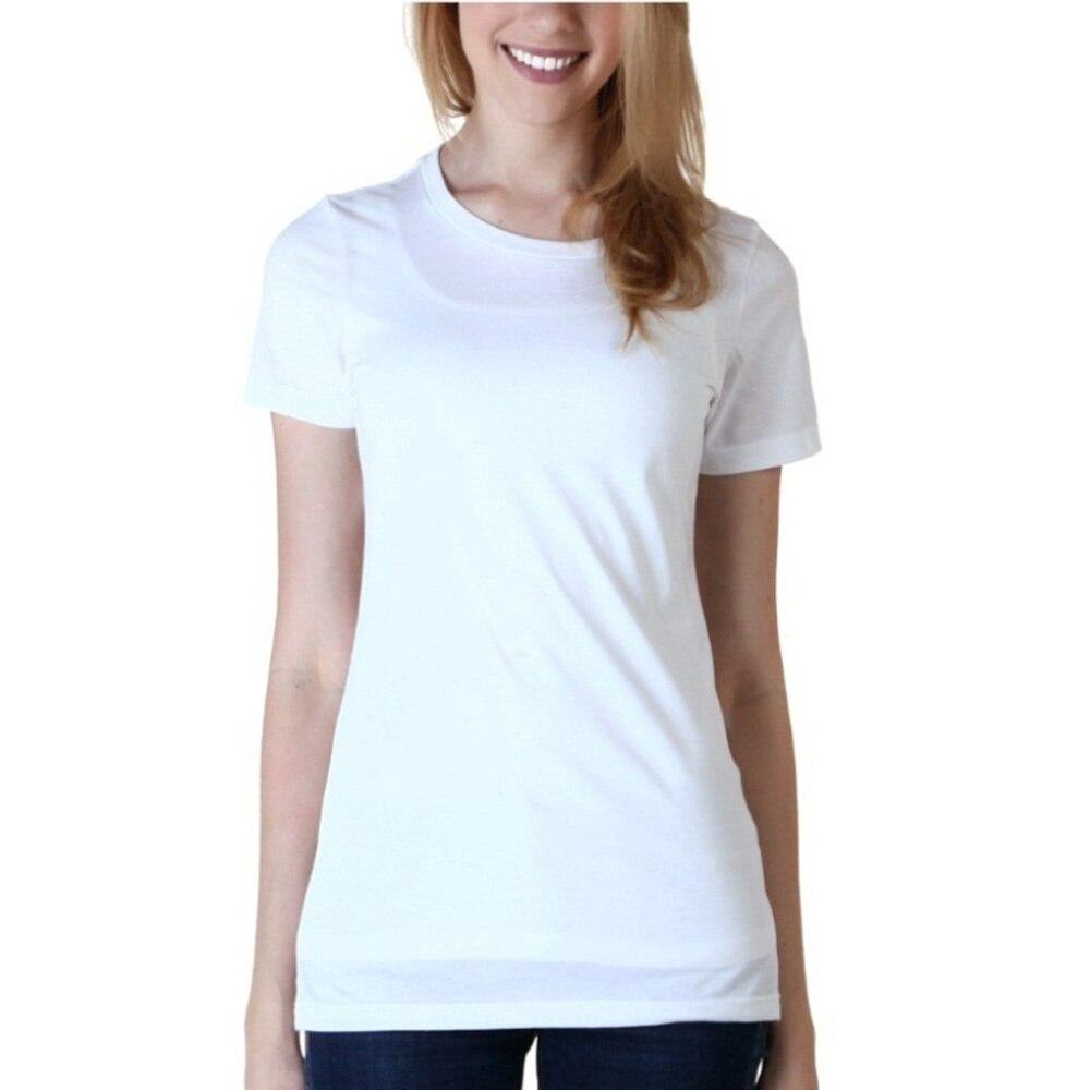 Plain black t shirt quality - Enjoythespirit 2017 Women S Fashion Plain White And Black T Shirts Casual Summer Ladies Tee Tops 100 Cotton Sofe Shirt For Lady
