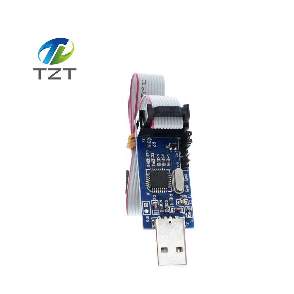 1pcs Smart Electronics New USBASP USBISP AVR Programmer USB ISP USB ASP ATMEGA8