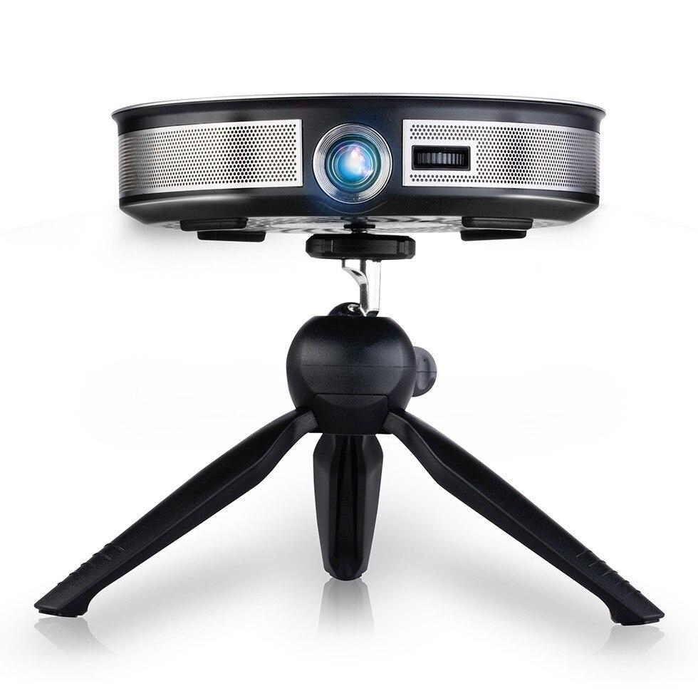 Marca AUN 3D proyector 1280x720 Resolution.12000mAH batería Android WIFI MINI proyector para el teatro en casa de oficina 1080 P 4 K D8S - 3