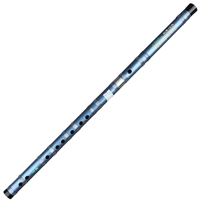 Китайская традиционная бамбуковая двухсекционная синяя флейта под названием Dizi Традиционный Бамбук Flauta для начинающих и любителей музыки - Цвет: F Key