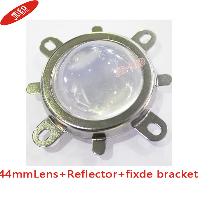 50mm Reflector Collimator Base Housing 44mm Lens Fixed bracket for 100W L...