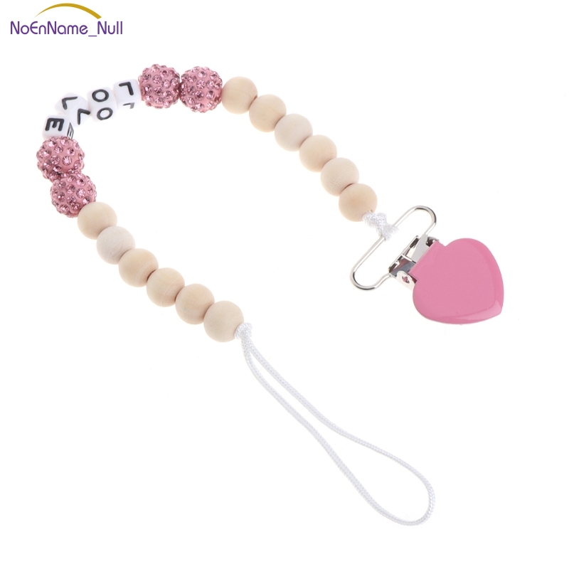 Nice Bling Pacifier Chain For Nipples Chupetas Para Bebe Pacifier Clips Chain Soother Holder Chain For Baby #330