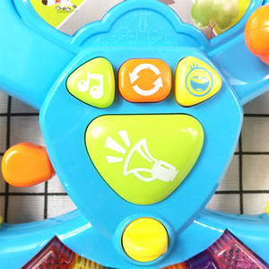 Image 2 - Promotion Toy Musical Instruments For Kids Baby Steering Wheel Musical Handbell Developing Educational Toys Children Gift DS19