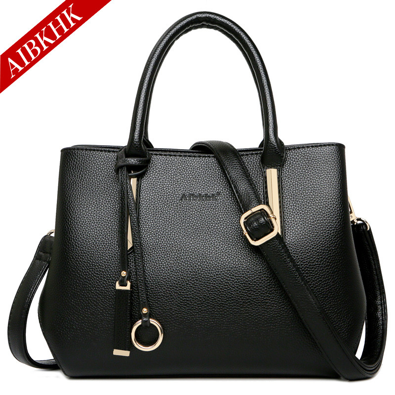 цены на Designer Luxury Handbags Crossbody Bags for Women 2018 Genuine Leather Tote Famous Brands Ladies Fashion Soft Black Shoulder Bag