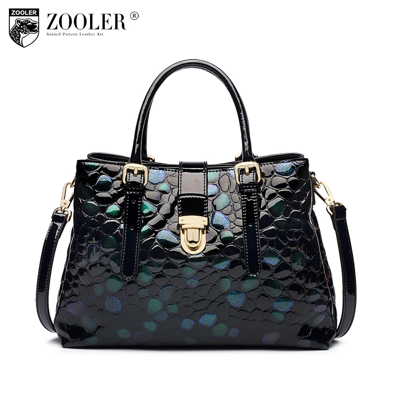 ZOOLER limited losing money genuine leather handbag top handle woman leather bags 11-11 new designed tote bolsa feminina#c127