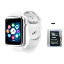 A1 2016 Männer Frauen Mode Armbanduhr Bluetooth Smart Uhr GT08 Sport Pedometer Mit SIM Slot Kamera Smartwatch Für Android