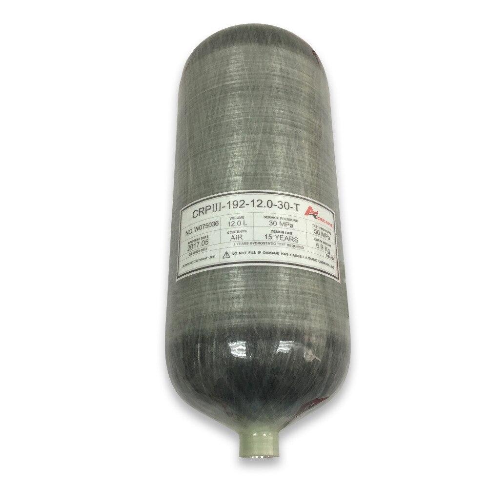 Ac3120 Mini Tauchen Pcp Airforce Paintball/dive Tank Pcp Carabina Luftgewehr Gewehr Scuba Tank Carbon Faser Für Kompressor Pcp Acecare Gute WäRmeerhaltung Sicherheit & Schutz