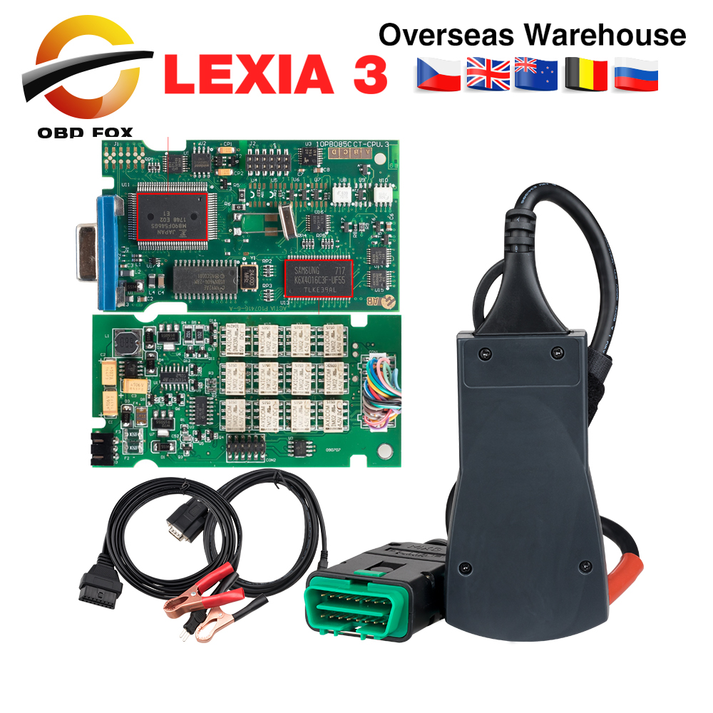 US $54 85 6% OFF|2019 lexia 3 pp2000 Diagbox V7 83 for citroen for peugeot  lexia3 pp2000 diagnostic tool lexia lexia 3 scanner DHL free-in Car
