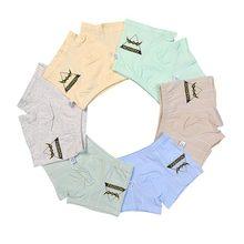 Boys Underwear Panties Briefs Cotton Cartoon Children For Girls Baby 2-7T 6pcs/Lot