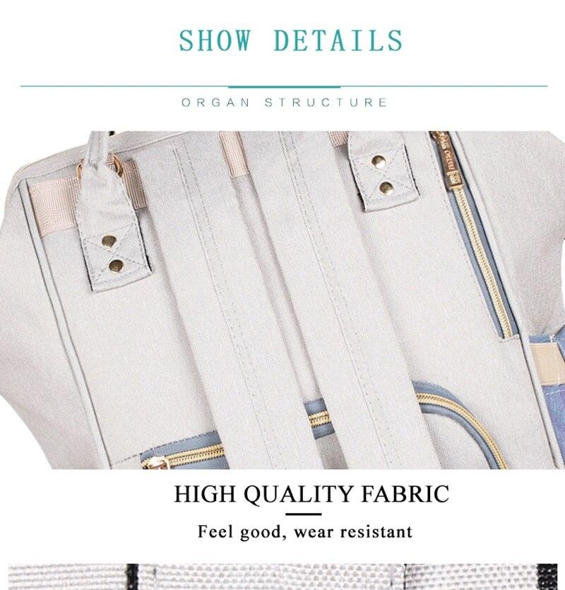 HTB1osdBX75E3KVjSZFCq6zuzXXa1 40 Colors Large Capacity Diaper Bag Mummy Maternity Nappy Nursing Baby Bags Travel Backpacks Women's Fashion Bag for Baby Care