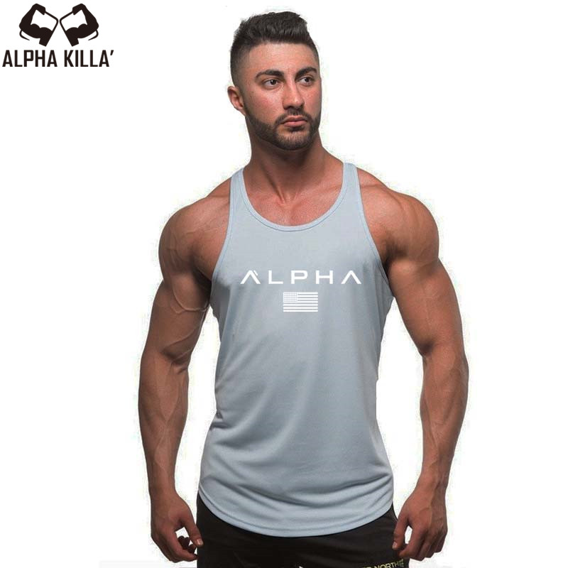 d0e1fda90d4 2018 Men Summer gyms Fitness bodybuilding Hooded Tank Top fashion mens  Crossfit clothing Loose breathable sleeveless shirts Vest-in Tank Tops from  Men s ...