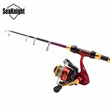 SeaKnight REAVER+FENICE Fishing Rod Combo Telescopic Rod 1.8 2.1 2.4 2.7 3 3.6M+ 5.2:1 11BB Spinning Fishing Reel Fishing Tackle