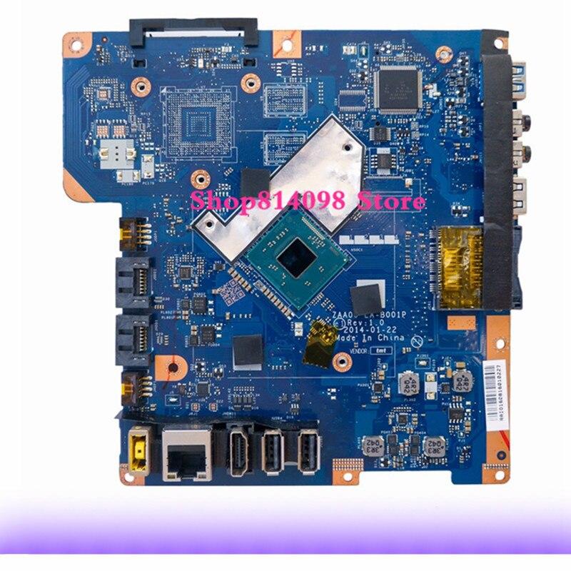 KEFU Pour Lenovo C260 Mère D'ordinateur Portable ZAA00 LA-B001P Avec Tests CPU Bateau Rapide