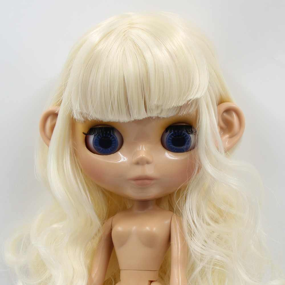 1/6 blyth doll icy doll ears toy, white natural tan dark and super black skin, only ears, no doll