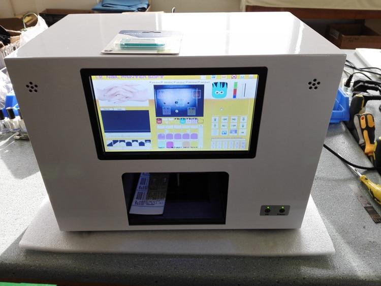 2017 Nail Salon Painter Machine Touch Screen Nail Printing
