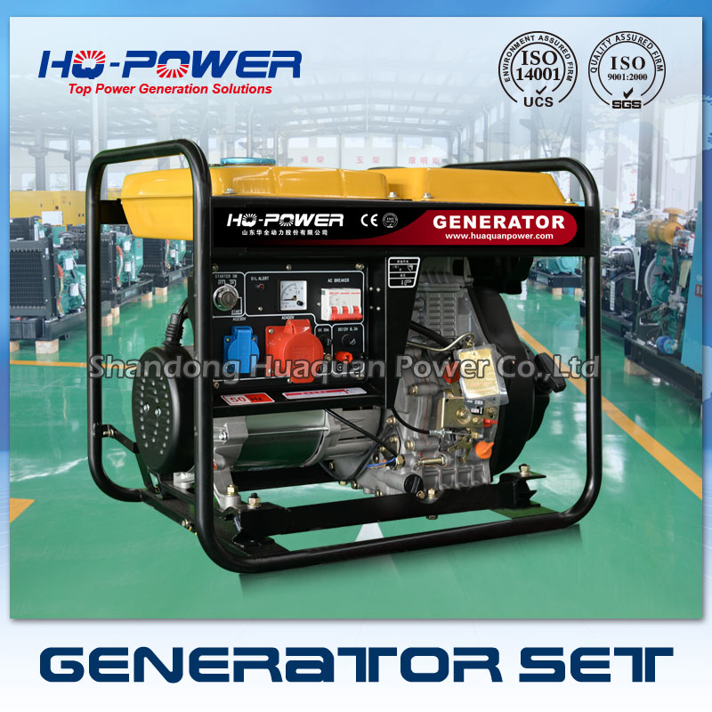 Бензиновый генератор 5