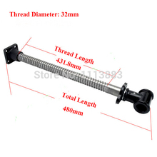 Bench Screw 32mm Diameter Long Type Woodworking Clamp for Workbench Vise Press