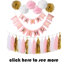Paperboard Banner Happy Birthday