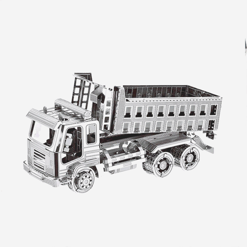 3D metal model puzzle dump truck DIY children's toy puzzle kit medium difficulty adult children education collection gift toy-in Puzzles from Toys & Hobbies on Aliexpress.com | Alibaba Group