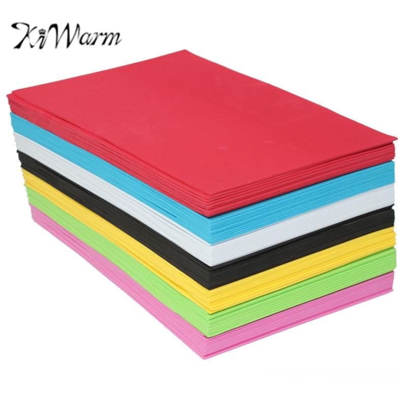 Buy kiwarm 10pcs lot multicolor sponge for Craft paper card stock