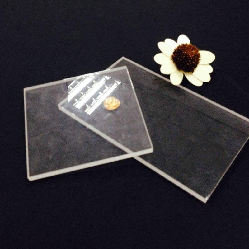 15*10cm Clay Sculpture Acrylic Rolling Pin Mat Plexiglass Engraving Sheet Clay Sculpture Handmade Pastry Mat Perfect