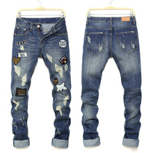 8a7d0c94d54c0 Mens de la marca para hombres Denim Jeans diseñador de moda Pepe Jean Slim  Hombre Pantalones