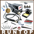 Best Selling 8586 2em1 Rework Station Hot Air Gun + Ferro De Solda