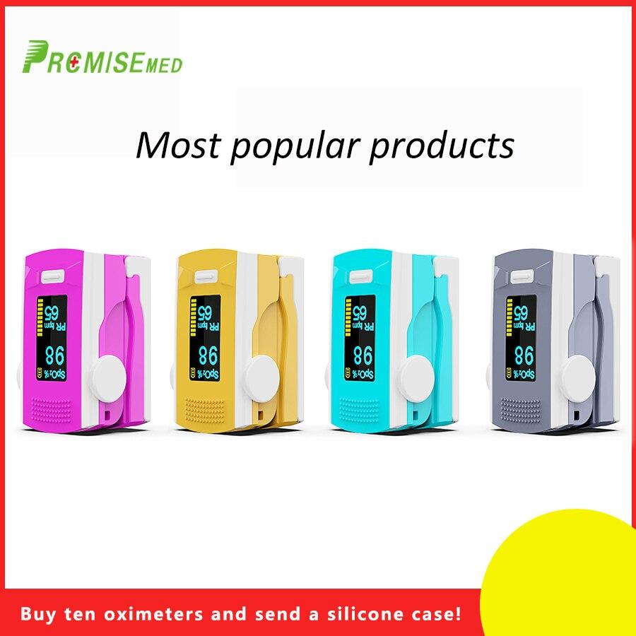PR MISE finger pulse oximeter OLED ABS metrial heart rate monitor