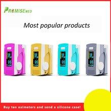 PR+MISE finger pulse oximeter OLED ABS metrial heart rate monitor