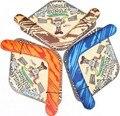 1 Unidades Para Niños Juguete EVA seguridad soft Frisbee UFO V Boomerang niños Juguetes Al Aire Libre Deporte Juego Flying Saucer Disco Disco 3 color elegir