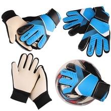 36b4c417496 Outdoor Sport Full Finger Goalie Gloves Boys Girls Rubber Anti Slip Wrist  Wrap Soccer Apparel Accessories