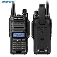 BAOFENG 2 Pz UV-9R Plus. Walkie Talkie 136-174/400-520 MHz Walkie Talkie IP67 a Prova di Acqua 9R più Standby Palmare Radio Bidirezionale