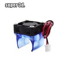 1 set V6 J-head assembled Cooling Fan Radiator Cooler 3010 DC 12V hotend 3D printer parts цена и фото