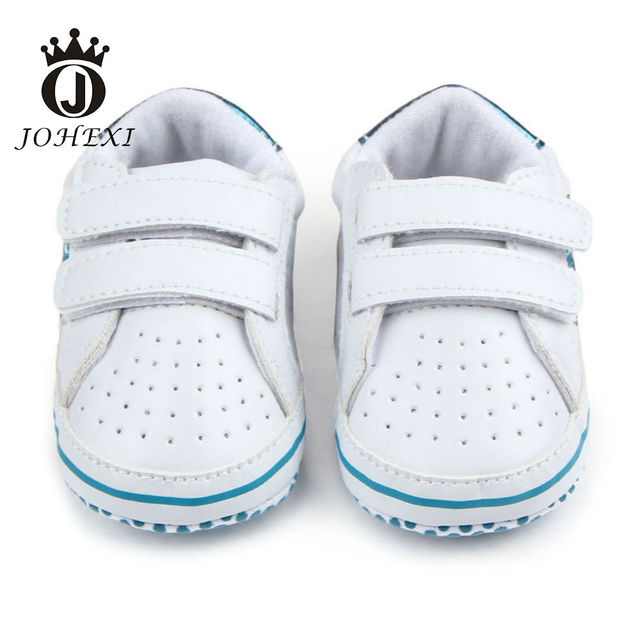 2017 Fashion Star Design Boy/Girl Baby Firstwalker PU Newborn Baby Shoe Infant Toddler Breathable Soft Red/Green/Blue 11cm-13 cm